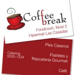 Coffee Break Business Cards