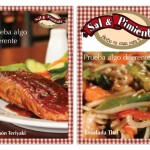 Table Tents for Sal y Pimienta